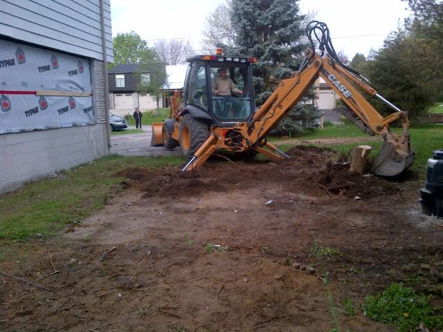 Start Excavation